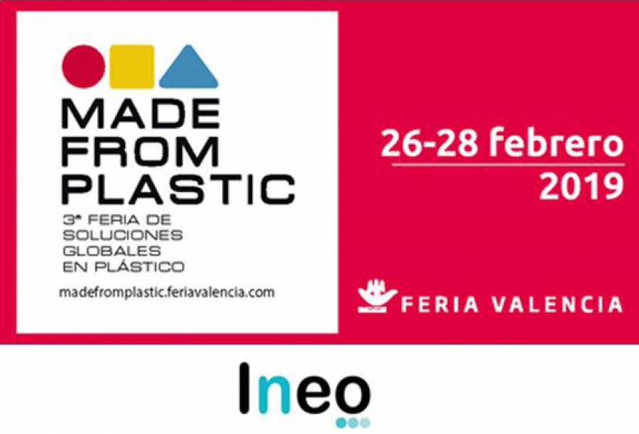 Visítanos en Made From Plastic 2019